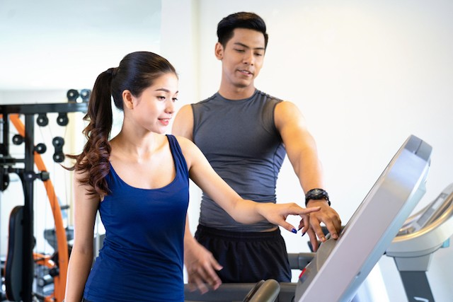 One in seven people in the UK is believed to be a member of a gym Shutterstock