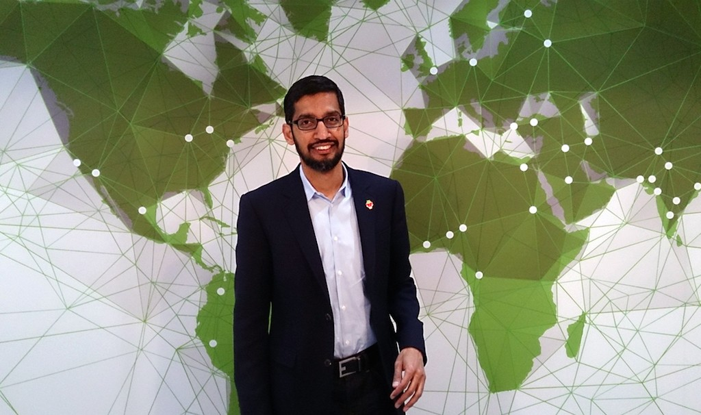 Google CEO Sundar Pichai says the company's new tools will suggest to users when it's time to take a break from a digital device. Maurizio Pesce/Creative Commons