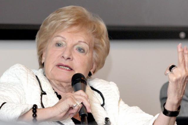 Astrid Lulling, pictured, became a Luxembourg MP in 1965 and served as MEP from 1965–1974 and 1989-2014 for the Christian Social People's Party Luc Deflorenne/archives