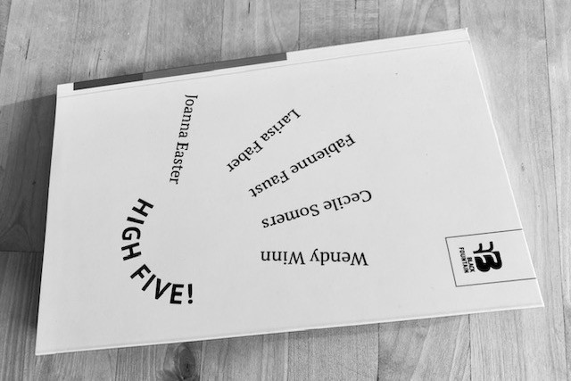 """""""High Five!"""" is the fourth book to be published by Black Fountain Press Black Fountain Press"""