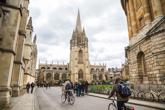 University Church of St Mary the Virgin at Oxford University Shutterstock