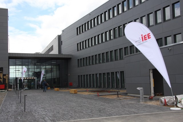 IEE, a worldwide specialist in sensing systems for occupant detection and classification, was the first company to set up on the automotive campus on Monday. IEE