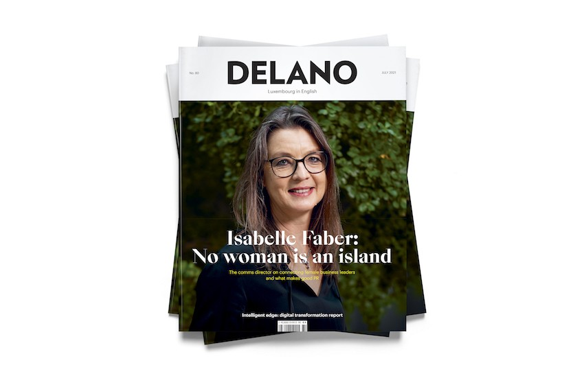 Delano's July 2021 edition, available on newsstands starting 16 June Maison Moderne