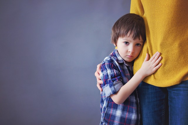 If a child shows altered behaviour as a result of measures designed to curb the spread of the coronavirus, there are a number of steps parents should take, according to the support group KJT Shutterstock