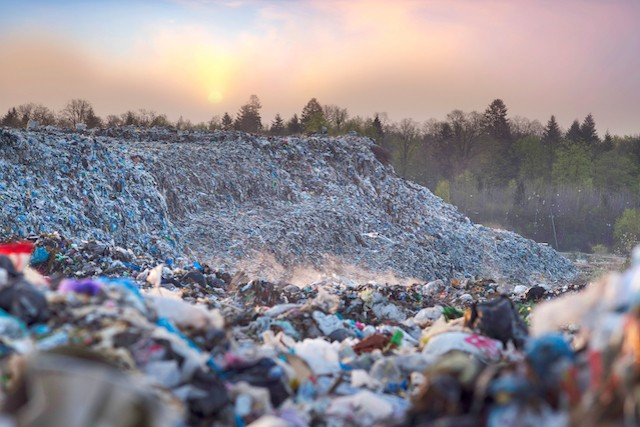 Illustration photo shows a landfill site in Europe. Luxembourg hopes to end municipal landfill waste by 2030 Shutterstock