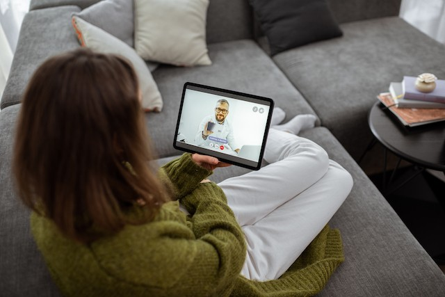 Deloitte predicts that around 5% of all patient visits worldwide may be done by video in 2021, compared to under 1% in 2019. Shutterstock
