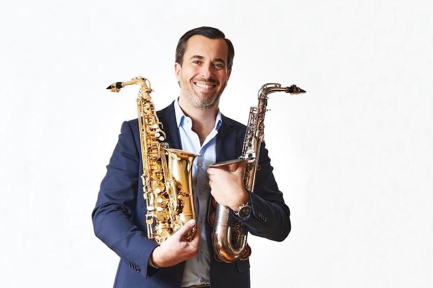 Jean-Pierre Schmit is quite attached to his saxophones Andrés Lejona/Maison Moderne