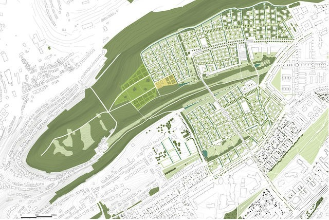 """If approved, the school buildings could be constructed on a 62-hectare site known as """"Op der Schleed"""" Archiduc.lu"""