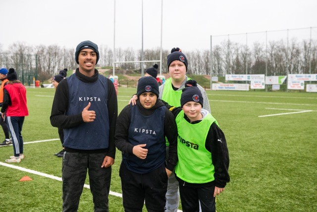 Youngsters give touch rugby the thumbs up at the sportify event on Thursday 5 March, 2020 LaLa La Photo