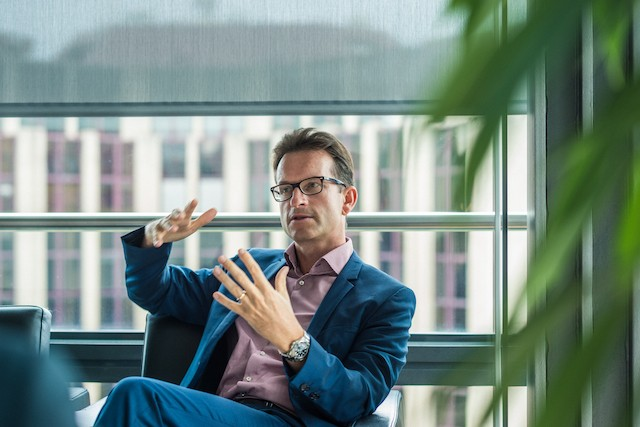 Luxembourg Chamber of Commerce director general Carlo Thelen (pictured) wants a sustainable national consumer price index for Luxembourg Mike Zenari
