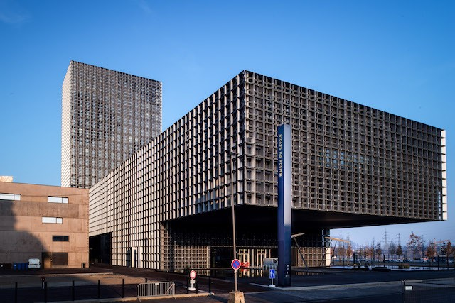 The Maison du Savoir building of the University of Luxembourg is pictured in Esch-Belval Nader Ghavami/archives