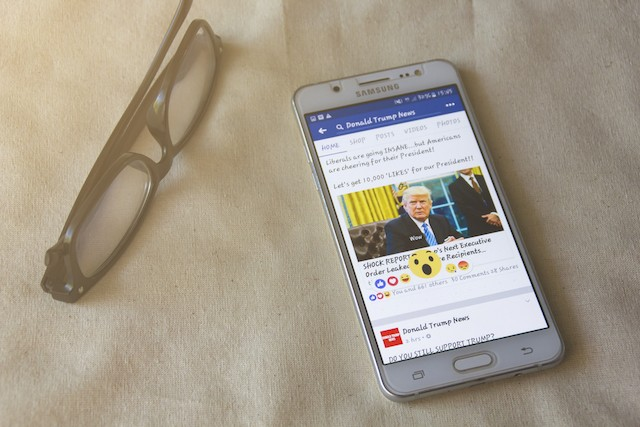A new feature lets people find out why Facebook is showing them particular posts Shutterstock