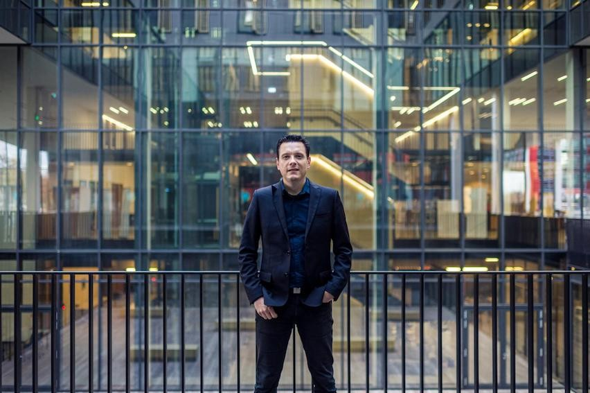 "Julien Licheron, a researcher who studies the housing market at the Luxembourg Institute of Socio-Economic Research. Licheron spoke with Delano for the magazine's ""2021 forecast"" series Mike Zenari"