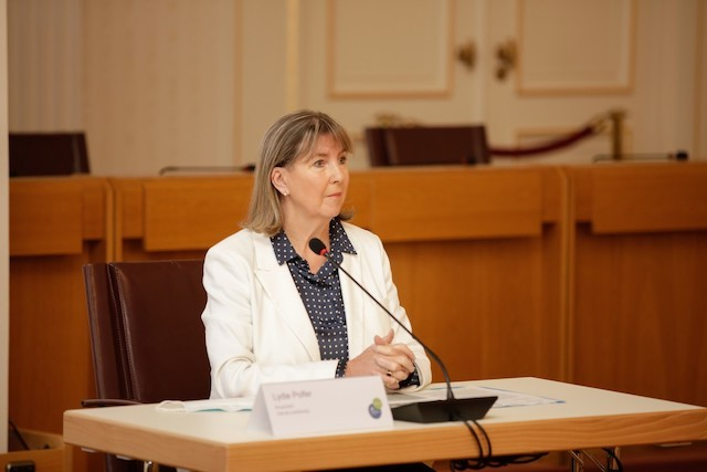 Luxembourg City mayor Lydie Polfer says problem can only be solved by working together Romain Gamba