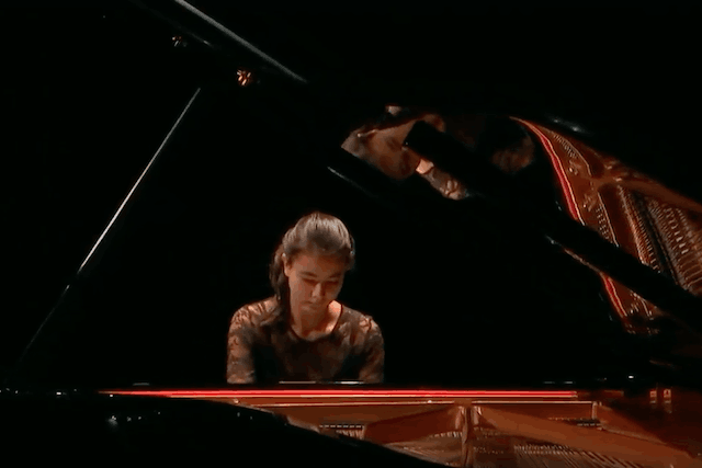"""Among the works Zala Kravos will play is the world premiere of """"Twinkling Dream"""", a piece written for her by the Luxembourg composer of Bulgarian origin, Albena Petrovic Vratchanska YouTube screenshot"""