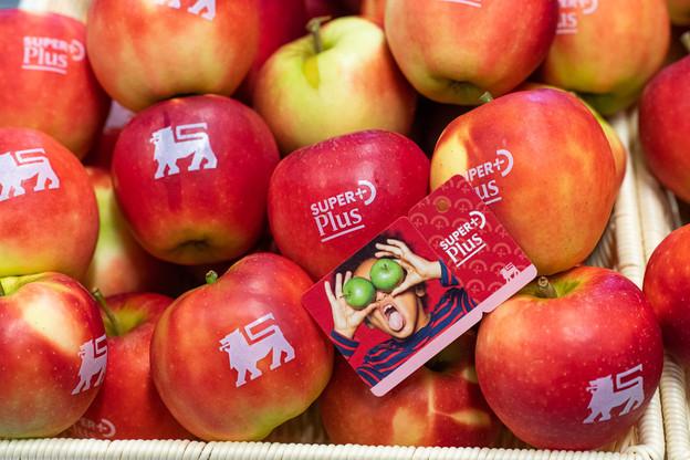 La carte SuperPlus veut mettre l'accent sur la consommation de produits étiquetés Nutri-Score A et B. (Photo: Jonas Roosens/Delhaize)
