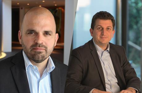 Stephan Tilquin et Pascal Martino détaillent l'agenda de retour au bureau avant la rentrée. (Photos: Deloitte Luxembourg; Montage: Maison Moderne)
