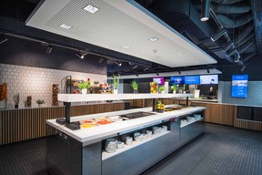 Un restaurant d'entreprise signé Elior est prévu au rez-de-chaussée. ((Photo: Nader Ghavami))