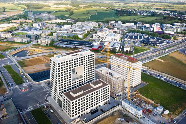 Les employés de Deloitte vont progressivement prendre possession du nouveau siège. (Photo: Nader Ghavami)