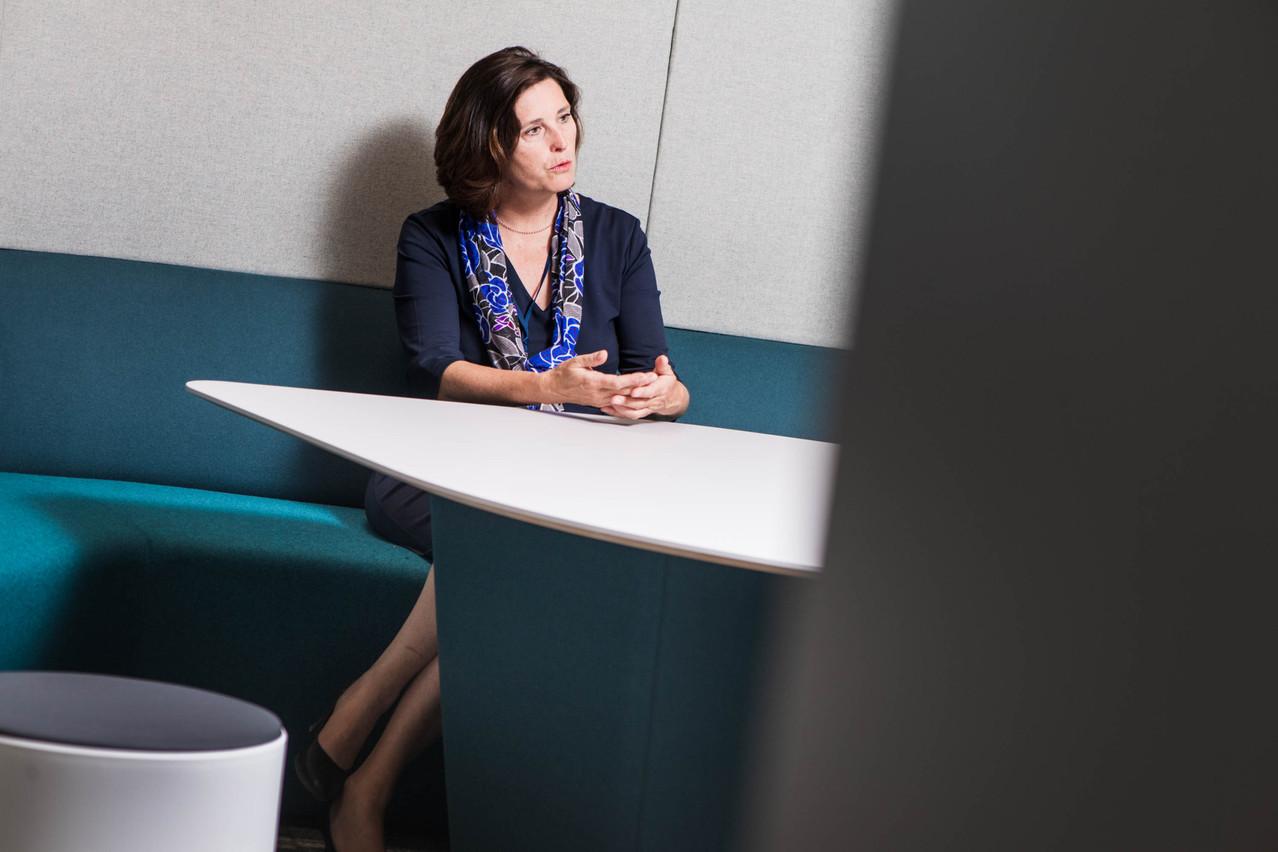 Sophie Mitchell a coordonné le déménagement de Deloitte à la Cloche d'Or. Nader Ghavami
