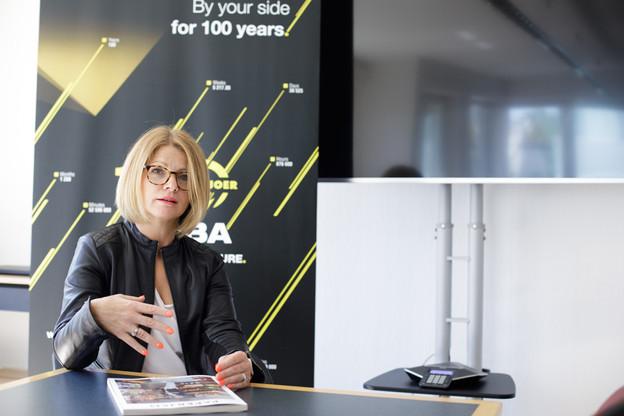 DelphineNicolay a pris le relais de LaurentMertz endevenant la secrétaire générale de l'ALEBA en mai dernier. (Photo: Matic Zorman/Maison Moderne)