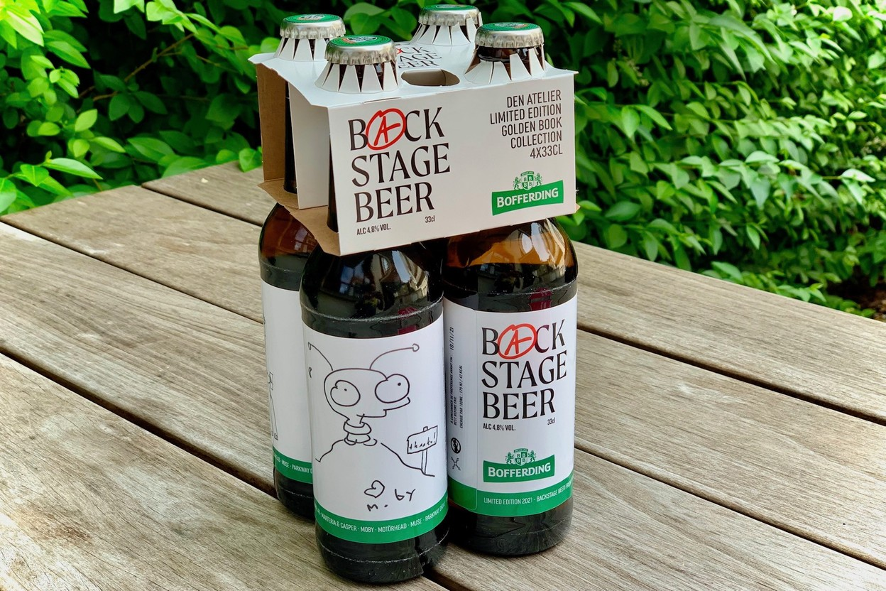 Bofferding's limited edition beers for den Atelier were designed by Fred Touillot of Granduchy. (Photo: Maison Moderne)
