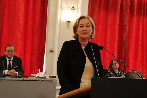 L'objectif du projet de dépistage, même s'il est reporté, reste «de tester l'ensemble de la population», a précisé la ministre de la Santé, Paulette Lenert, aux députés de la commission de la santé. (Photo: Chambre des députés/Flickr)