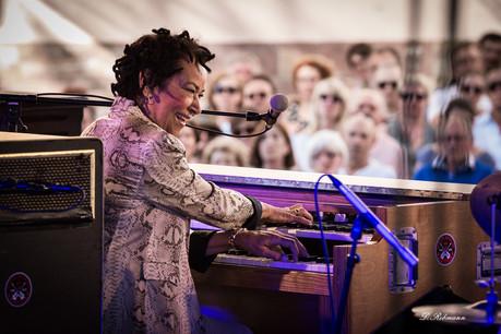À année exceptionnelle, invitée exceptionnelle: pour ses 35 ans, le Gaume Jazz Festival aura Rhoda Scott comme tête d'affiche. (Photo: Gaume Jazz Festival/R. Redman)