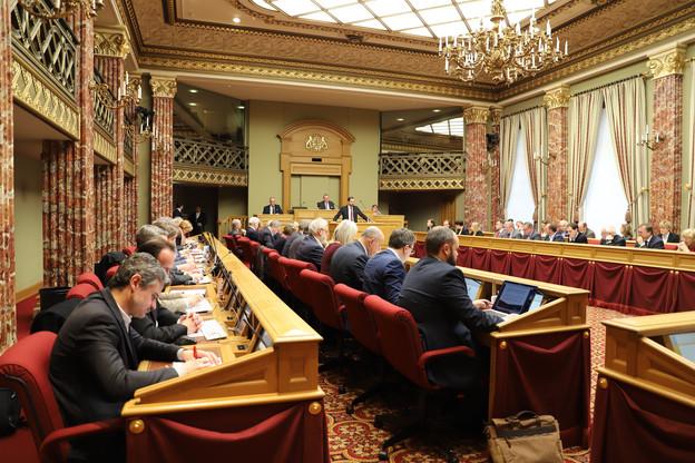 Mardi 17 décembre, le député YvesCruchten (LSAP) présentait son rapport sur le projet de budget2020. (Photo: Chambre des députés)