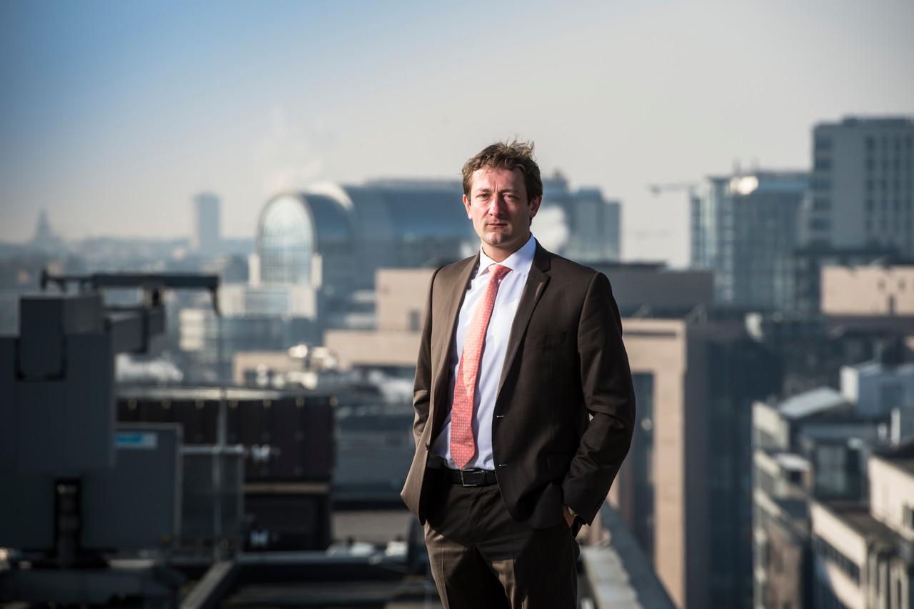 Christophe Hansen est membre effectif de la commission du Commerce international. (Photo: Anthony Dehez/archives)