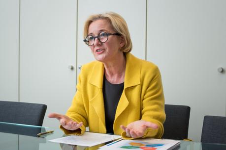 PauletteLenert quitte la Coopération à regret. Non sans avoir renouvelé cinq accords-cadres avec des ONG. (Photo: Paperjam/Archives)