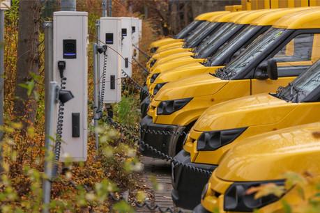 DHL Express va accueillir 8camionnettes 100% électriques au Luxembourg en septembre. L'ambition est de livrer la capitale uniquement avec des véhicules électriques. (Photo: Shutterstock)