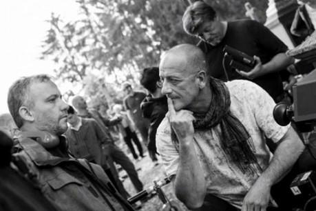 Le réalisateur Christophe Wagner (à gauche) et son chef opérateur, Jako Raybaut. (Photo: Patrick Muller/Samsa Film/Artemis Productions)