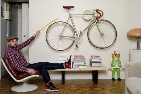 L'intérieur de Damien Pierre montre bien sa passion pour le vintage. (Photo: Baudoin)