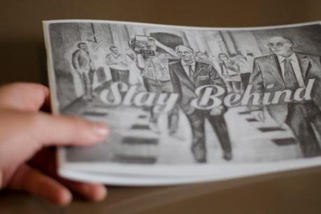 Un petit livre auto-édité qui en dit long sur l'actualité. (Photo: Filip Markiewicz)