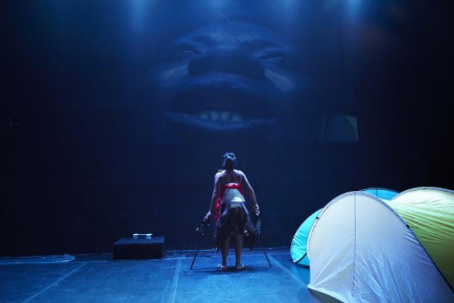 La pièce de Robin Orlyn fait parte de la programmation du festival. (Photo: Thomas Lachambre)