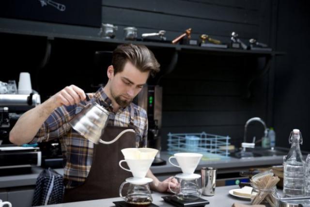 La passion des cafés anime la famille Knopes depuis quatre générations. (Photo: Benjamin Champenois)