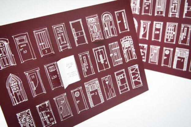 Chaque jour une porte s'ouvre pour découvrir un spectacle (Photo: Maison Moderne Studio)