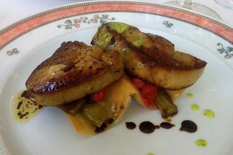Les assiettes concoctées par Claude Lampson sont toujours aussi parfaites. (Photo: France Clarinval)