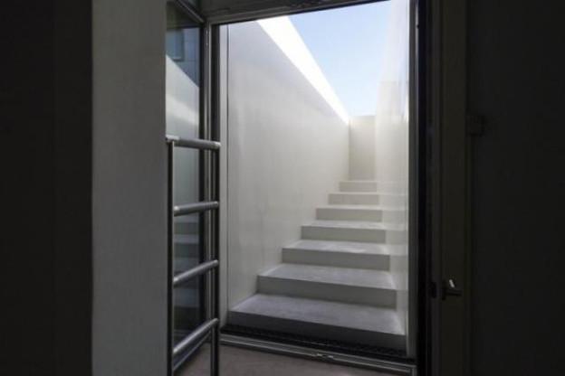 L'installation Beautiful Steps vue de l'intérieur du Casino Luxembourg (Photo: Lang/Baumann)