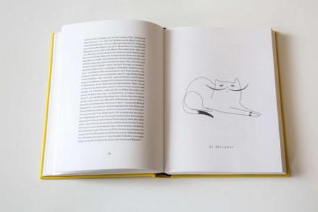 Dali et ses moustaches évoquent un chat dans l'esprit de l'illustratrice Stina Fisch (Photo: Eric Chenal)
