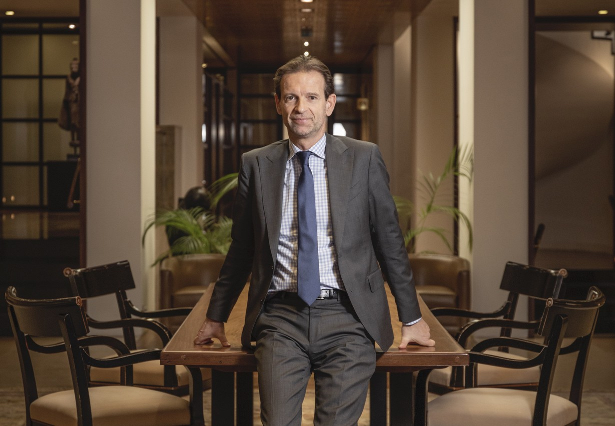 Olivier Chatain, Senior Country Officer Groupe Crédit Agricole Luxembourg Jan Hanrion