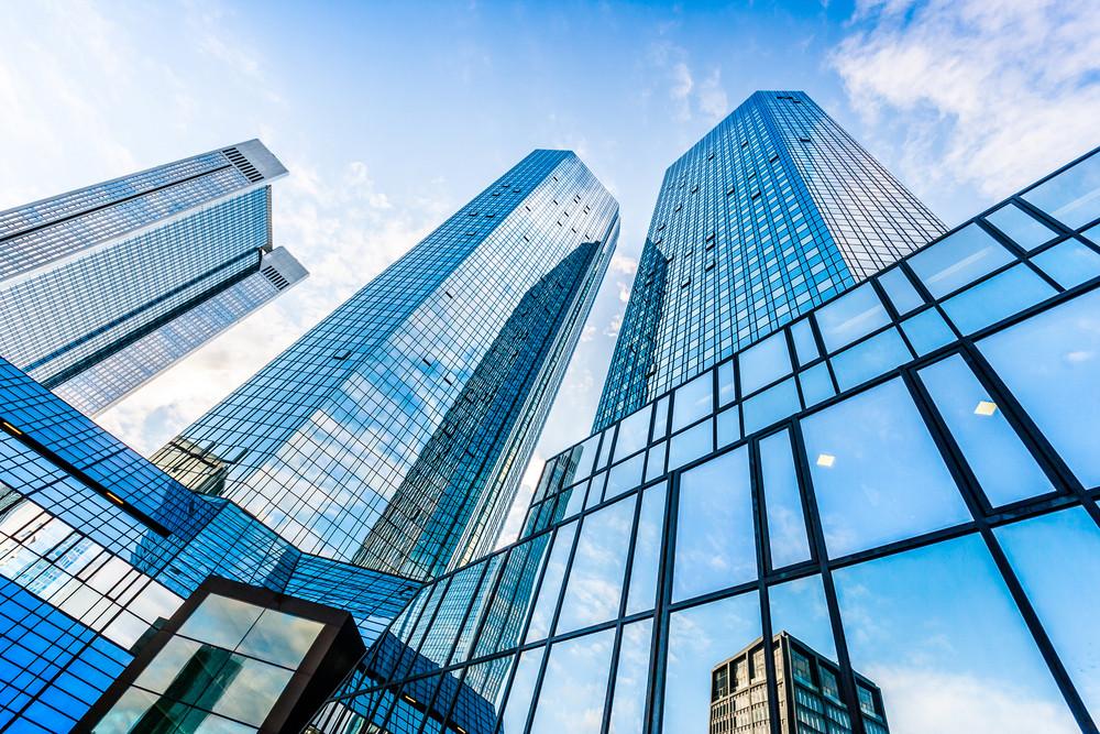 Le siège de Deutsche Bank à Francfort. (Photo: Shutterstock)