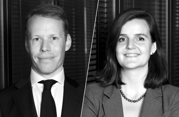 SylvainLesaffre et Teolina Tentchev viennent de rejoindre le cabinet Kleyr Grasso. (Photos: Kleyr Grasso; Montage: Maison Moderne)