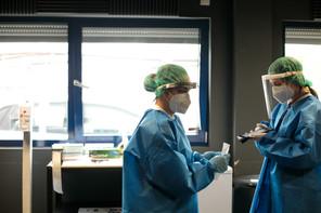 9.778 tests PCR ont été réalisés sur des résidents luxembourgeois le 24 février 2021. (Photo: Matic Zorman / Maison Moderne)