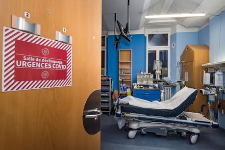 Le nombre de personnes hospitalisées à cause du Covid diminue légèrement. (Photo: Nader Ghavami / Maison Moderne)