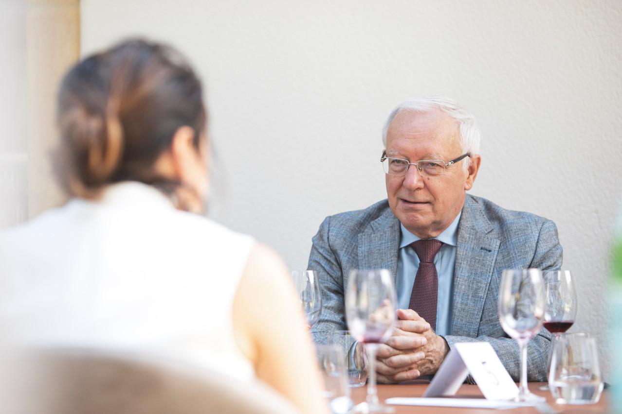 DanielHussin préside le Cercle européen PierreWerner. (Photo: JanHanrion/Maison Moderne/archives)