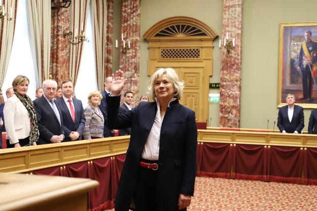 Cécile Hemmen revient à la Chambre, profitant de la retraite politique du vice-Premier ministre Étienne Schneider. (Photo: Chambre des députés)