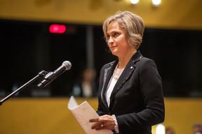 Ineta Ziemele succède à Egils Levits, appelé à présider la Lettonie l'an dernier. ((Photo: CJUE))