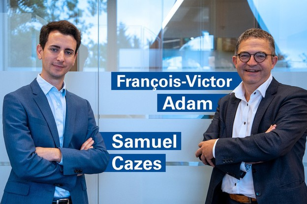 SamuelCazes et François-VictorAdam viennent renforcer l'équipe de KPMG Luxembourg. (Photo: KPMG Luxembourg)